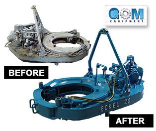 GOM Equipment Rebuilt & REMAN Power Tongs