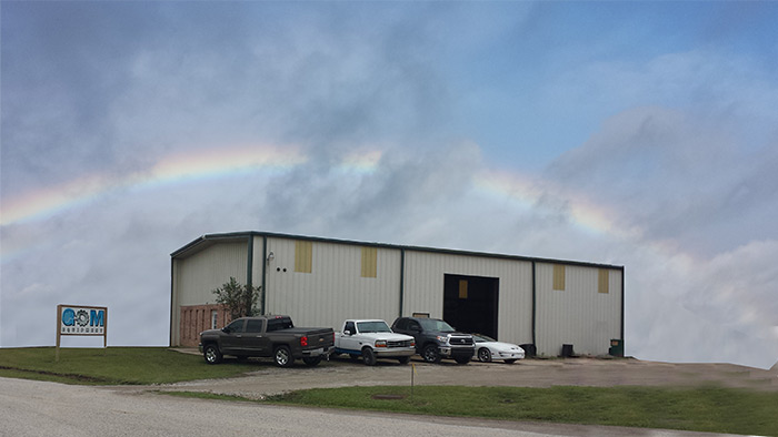Follow the rainbow to GOM Equipment LLC, Broussard, LA>