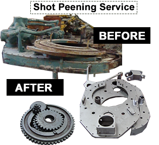 GOM Equipment LLC Shot Peening Service