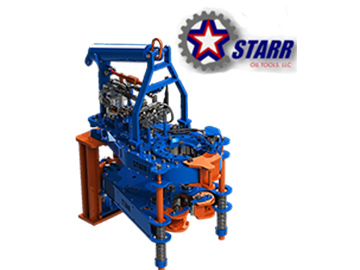 click for specifications on the Starr Power Tong 5500HD
